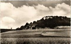 Corcelles-les-Monts (Cote-d'Or)-Les cheminées et la Tour-Télévision - Corcelles-les-Monts