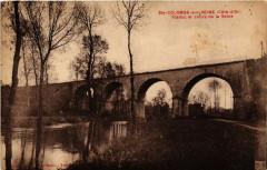 Sainte-Colombe-sur-Seine(Cote-d'Or) - Viaduc et cours de la Seine - Sainte-Colombe-sur-Seine