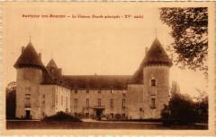 Savigny-les-Beaune - Le Chateau (Facade principale -Xv siécle) - Savigny-lès-Beaune