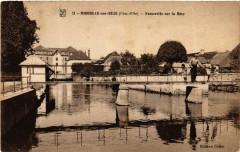 Mirebeau-sur-Béze (Cote-d'Or) - Passerekke sur la Béze - Mirebeau-sur-Bèze