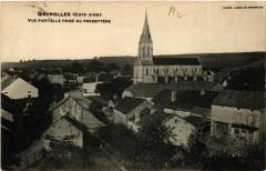 Gevrolles (Cote-d'Or) - Vue partielle frise du Presbytére - Gevrolles