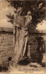 Touillon (Coté - d'Or) Vierge de L'Abbaye de Fontenay (Xiii siécle) - Touillon