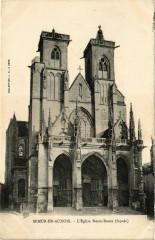 Semur - en-Auxois - L'Eglise Notre-Dame (facade) - Semur-en-Auxois