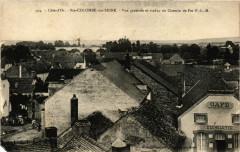Cote - d'Or - Sainte-Colombe-sur-Seine - Vue générale et viaduc du . - Sainte-Colombe-sur-Seine