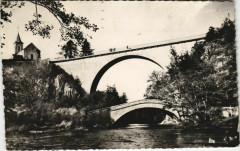 Pierre-Perthuis - Les deux ponts - Pierre-Perthuis