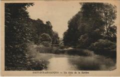 Pacy-sur-Armancon - un coin de la riviere - Pacy-sur-Armançon
