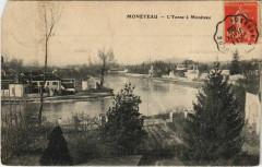 Moneteau - L'Yonne a Moneteau - Monéteau