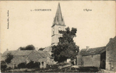 Coutarnoux - L'Eglise - Coutarnoux