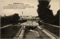 Lezinnes - L'Ecluse du Canal et l'Usine a Chaux - Lézinnes