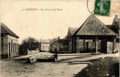 Santigny - Un Coin de la Place France - Santigny