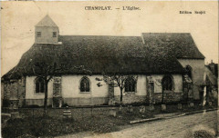 Champlay - L'Eglise France - Champlay