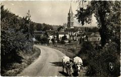 Saint-Pere et sa Splendide Eglise - Env. De Vezelay France - Saint-Père