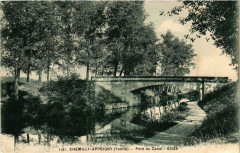 Chemilly-Appoigny - Pont du Canal France - Appoigny