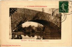Maligny - En Regardant sous le Pont - Le Chateau France - Maligny