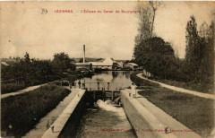 Lezinnes - L'Ecluse du Canal de Bourgogne France - Lézinnes