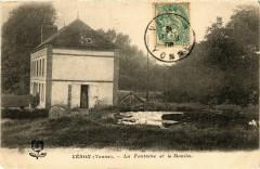Veron - La Fontaine et le Moulin France - Véron