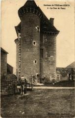 Environs de l'Isle-sur-Serein - La Tour de Pancy France - L'Isle-sur-Serein