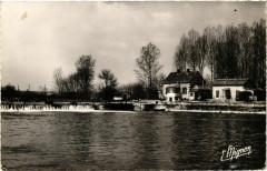 Charmoy - Barrage et Ecluse de la Graviere France - Charmoy