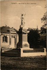 Bleneau - Monument aux Morts - Cote Droit France - Bléneau