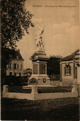 Bleneau - Monument aux Morts - Cote Gauche France - Bléneau