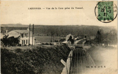 Lezinnes - Vue de la Gare prise du Tunnel - Lézinnes