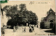Pisy Place de l'Eglise - Pisy