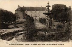 Saint-Sauveur-en-Puisaye - Le Chateau Xvii s. - La Tour - Saint-Sauveur-en-Puisaye