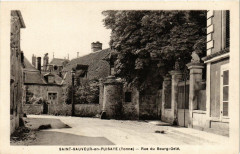 Saint-Sauveur-en-Puisaye - Rue du Bourg-Gele - Saint-Sauveur-en-Puisaye