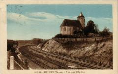 Etigny - Vue sur l'Eglise - Étigny