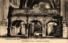 Appoigny - Int. de l'Eglise - Appoigny