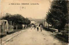 Vallée du Serein - Dissangis - La Grande Rue - Dissangis