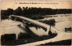 Saint-Pierre-le-Moutier Le Pont sur le Veurdre Nievre - Saint-Pierre-le-Moûtier