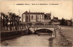 Corbigny Pont de la Republique Nievre - Corbigny
