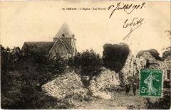 Saint-Verain L'Eglise Les Ruines Nievre - Saint-Vérain