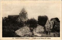 Saint-Verain L'Eglise et les Ruines Nievre - Saint-Vérain