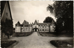 Suilly-la - Tour - Chateau des Granges-Facade Ouest - Suilly-la-Tour