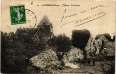 Saint-Verain - L'Eglise - Les Ruines - Saint-Vérain