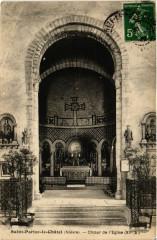 Saint-Parize-le-Chatel - Choeur de l'Eglise (Xii s.) - Saint-Parize-le-Châtel