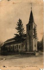 Chateauneuf-Val-de-Bargis - L'Eglise - Châteauneuf-Val-de-Bargis