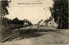 Myennes Nievre-Route de Paris - Myennes