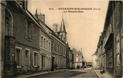 Entrains sur Nohain La Grande Rue - Entrains-sur-Nohain