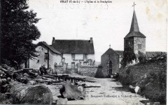L'église et le Presbytère 63 Virlet