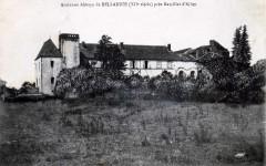 Ancienne Abbaye de Bellaigue (XIIe siècle) près Marcillat  d'Allier 63 Virlet