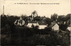 Saint-Verain - Vue sur les ruines - Monuments historiques (Ix s - Saint-Vérain