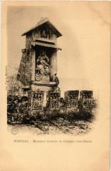Marville - Monument funeraire du Cimetiere Saint-Hilaire - Marville