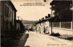 Clermont-en-Argonne - Rue Porte des Bois et le Préventorium - Clermont-en-Argonne