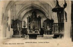 Boviolles - Intérieur de Eglise - Boviolles