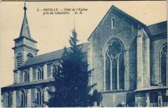 Souilly Cote de l'Eglise pris du Cimetiere - Souilly