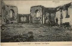 Vaubecourt Intérieur de l'Eglise - Vaubecourt