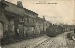 Locomotiv a vapeur - Mogneville - La Grande Rue - Mognéville